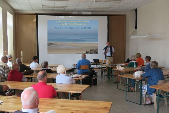 Assemblée générale du 8 août 2020 du C.A.C.E. Saint-Briac